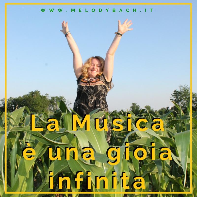 la musica è una gioia infinita