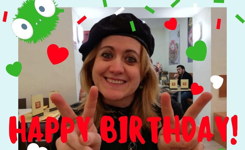 Buon compleanno Melody Bach