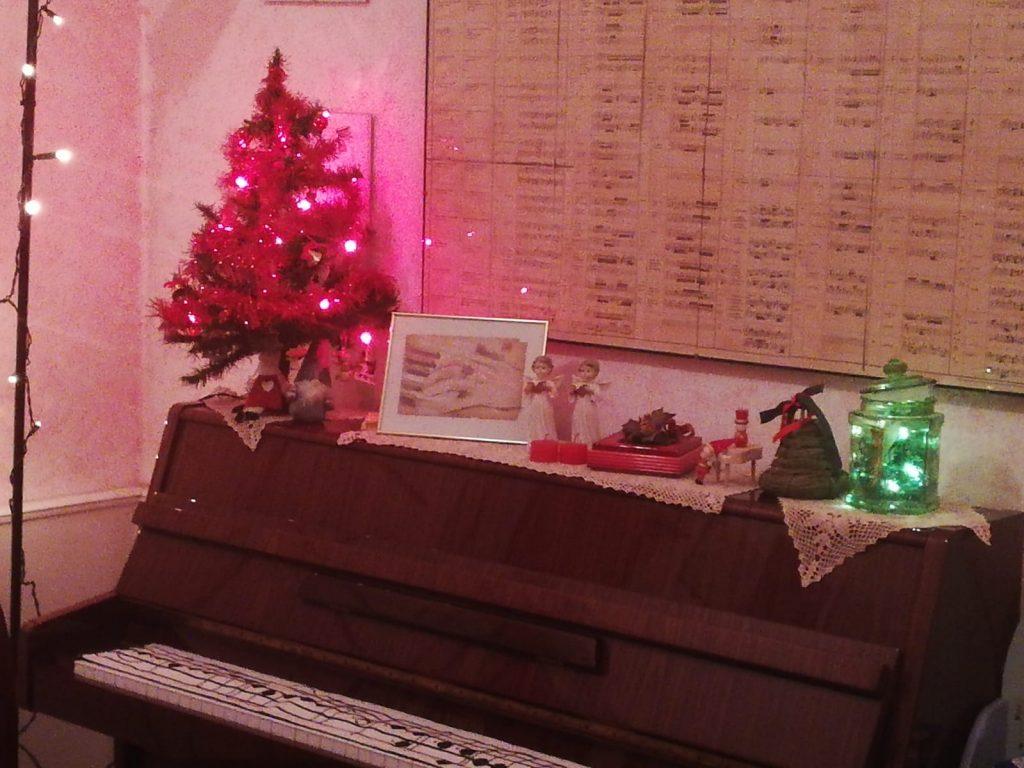 Il Natale a casa Fatina e il pianoforte