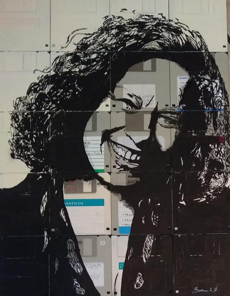 Sarah in un dipinto Andrea Borriani