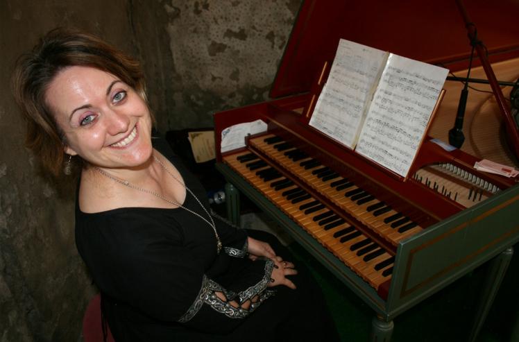 Melody Bach al Clavucembalo