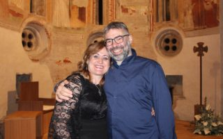 Melody Bach e Fabio Ricci