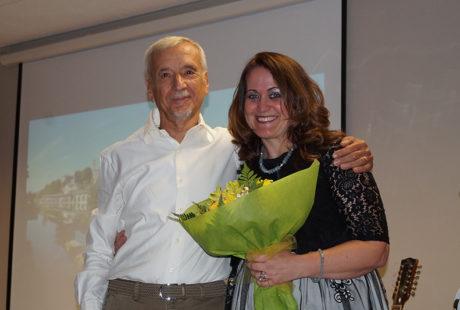 Fine concerto con Claudio e Claudia